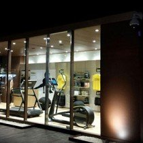 Technogym at Harrods Porto Cervo on Costa Smeralda