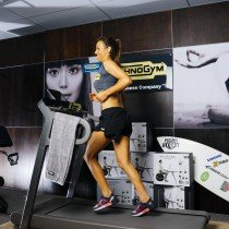 Fit in the city! Technogym and Sally Fitzgibbons present the launch of the revolutionary MYRUN treadmill.